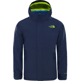 The North Face Boundary Triclimate Jacket Boys Cosmic Blue/Lime Green